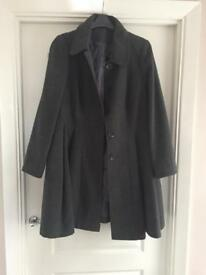 Grey coat size 16 new without tags