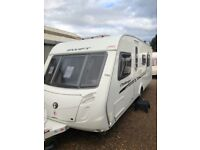 Swift challenger 580 2010 4 berth fixed island bed