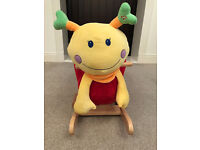 Baby Rocker - Musical Rocking Snail - Soft & Cuddly. Sit Up Aid & Support.