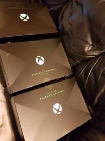 Xbox one x project scorpio consoles