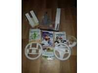 Wii bundle including Mario kart