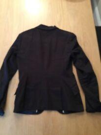 Zara black suit Jacket size 10