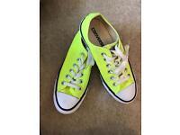 Unisex yellow converse