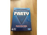 Brand new Trivial Pursuit Party board game