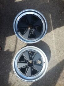 Porsche Fuchs 3 pieces wheels x2