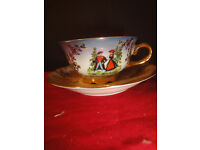 kleiber cup & saucer made in germany