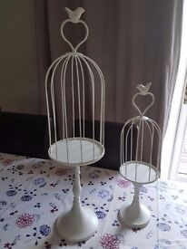 Wedding Birdcage centerpieces (7 large 2 small)