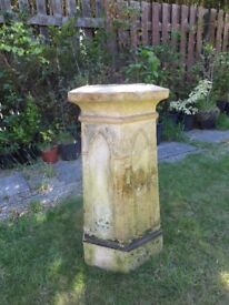 Very Old Reclaimed Chimney - Garden, Plant Stand