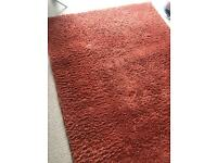Next Rust Burnt Orange rug