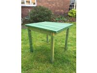 Children's Wooden Play Table.