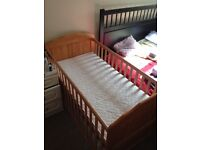 Wooden cot bed for sale