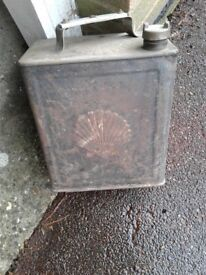Very Old Petrol Can