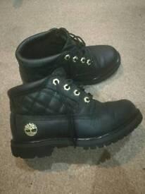 Timberland woman boots size uk 3