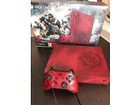 Xbox one S 2tb limited edition gears of War console