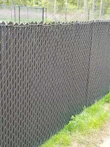 Privacy slats for chainlink fence