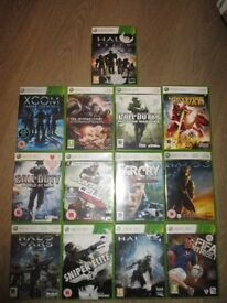 XBOX 360 games bundle second hand