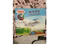 Thomas book. Jeremy the jet plane