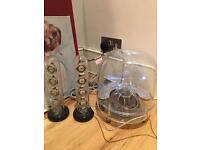 Beautiful Harman Kardon Soundsticks III 2.1 speakers LED Desktop wired transparent