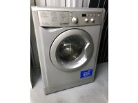 Silver colour Indesit Washer Dryer in excellent condition. Real space saver, excellent wash and dry