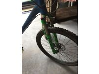 Cube mountain bike, 2015, ltd race, quick sale, Rrp £1000