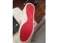 mens shoes loub red bottoms SIZE 7