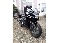 CBR250R. 2013. Very low milage