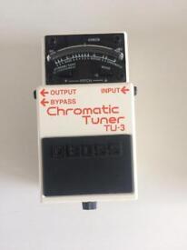 Boss TU3 tuner pedal