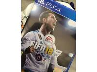 FIFA 18 PS4 (BRAND NEW ) SOLD!