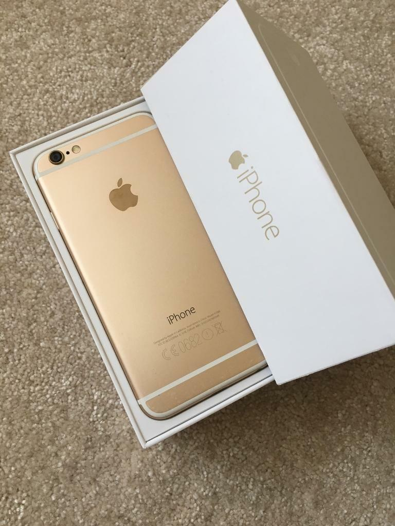 Apple Iphone 6 32 Gb Gold In Bexley London Gumtree 5 Certified Pre Owned 32gb