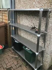 Stainless steal shelf