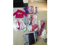 Girls size 3-4 clothes 50p and item