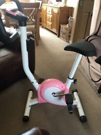 Exercise bike (pink)