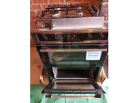 NEW UNUSED INTEGRATED ELECTROLUX ELECTRIC DOUBLE OVEN & GAS HOB.