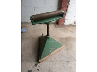 Dominion roller stand cast iron for woodworking machine like wadkin scm roland machines