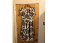 Jenny Packham Floral Dress. Bridesmaid. Wedding. Size 8