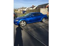 2004 Mazda rx8 full main dealer history 65000 miles