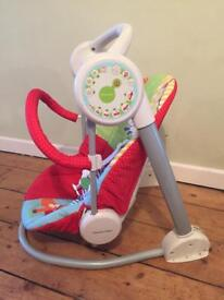Mamas and papas dream on the farm baby chair and swing £15