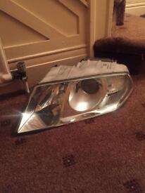 Skoda octavia mk2 passenger headlight