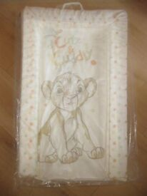 PUPPY DOG DESIGN BABY CHANGING MAT in bag - FABULOUS CONDITION