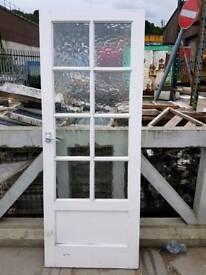 8 glass panel internal door (#552)