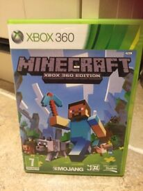 Minecraft XBox 360 Edition game