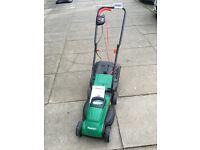Qualcast 1200w lawn mower with grass box