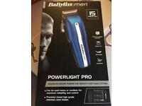 BaByliss for Men Powerlighr Pro