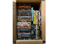 job lot of DVD 100+ films TV and boxes great titles