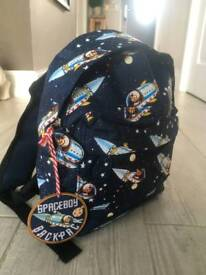 Mini Backpack Space themed