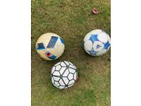 USED Footballs- great for dogs to chase
