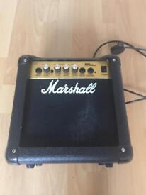 Marshall 10w guitar amp