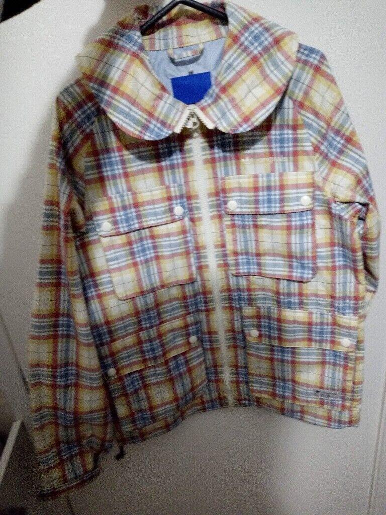 Men S Adidas Originals Check Field Jacket Gilet Rain Coat