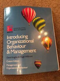 UWE Bristol, Introducing Organization Behaviour & Management