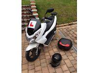Honda PCX 125cc in FANTASTIC CONDITION INCLUDING A RANGE OF ACCESSORIES